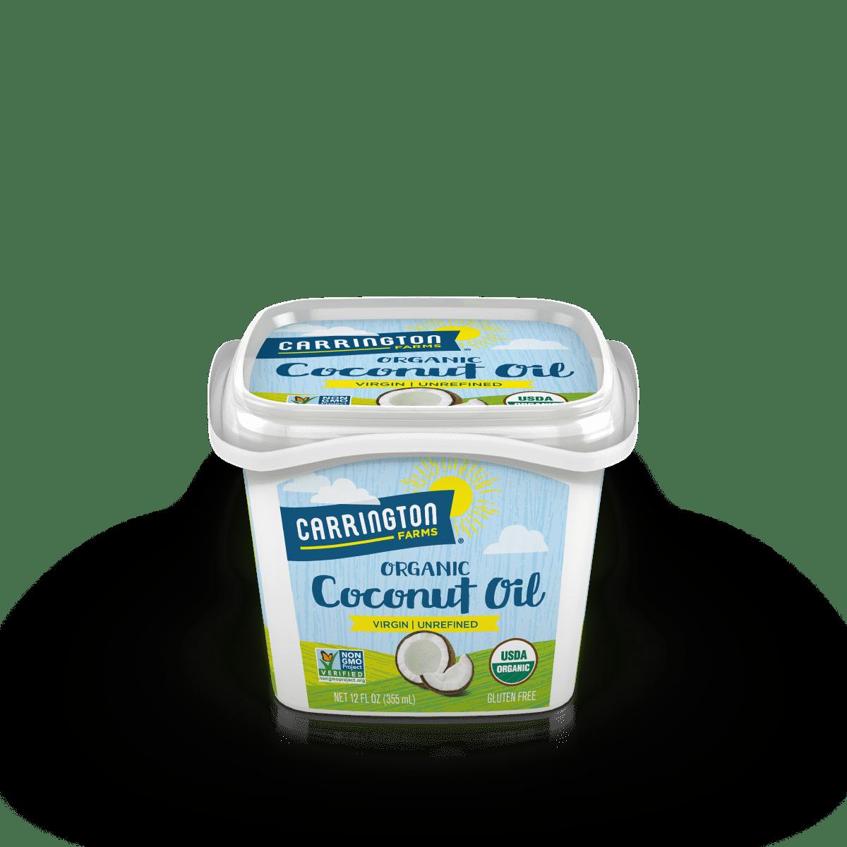 Carrington Farms 100% Organic Virgin Coconut Oil, 12 oz