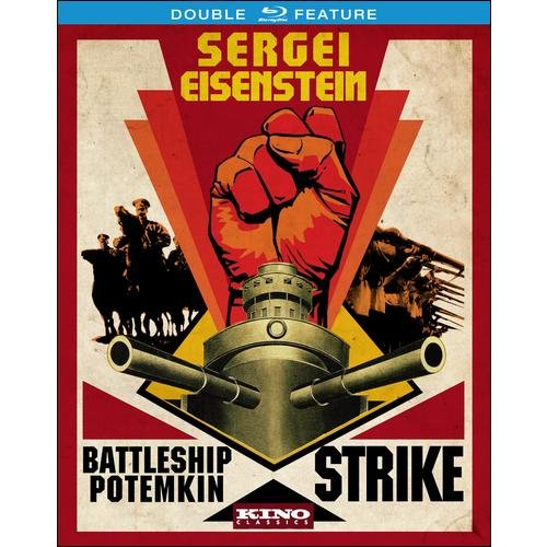 Sergei Eisenstein Double Feature: Battleship Potemkin/Strike (Blu-ray)