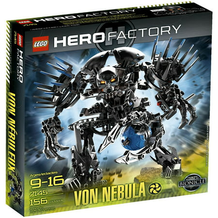 Hero Factory Von Nebula Set Lego 7145 Walmartcom