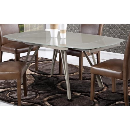 Global Furniture Dining Table In Champagne