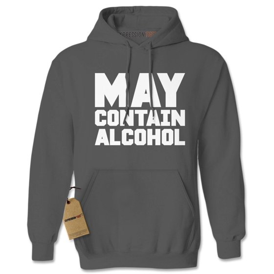 May Contain Alcohol Adult Hoodie Sweatshirt