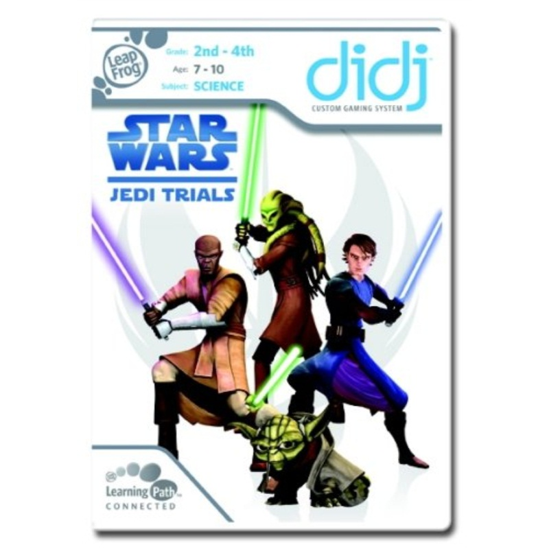 LeapFrog Didj Custom Learning Game: Star Wars: Jedi Trials by