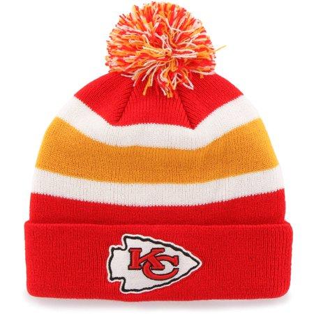 NFL Kansas City Chiefs Breakaway Beanie with Pom / Hat - Fan Favorite
