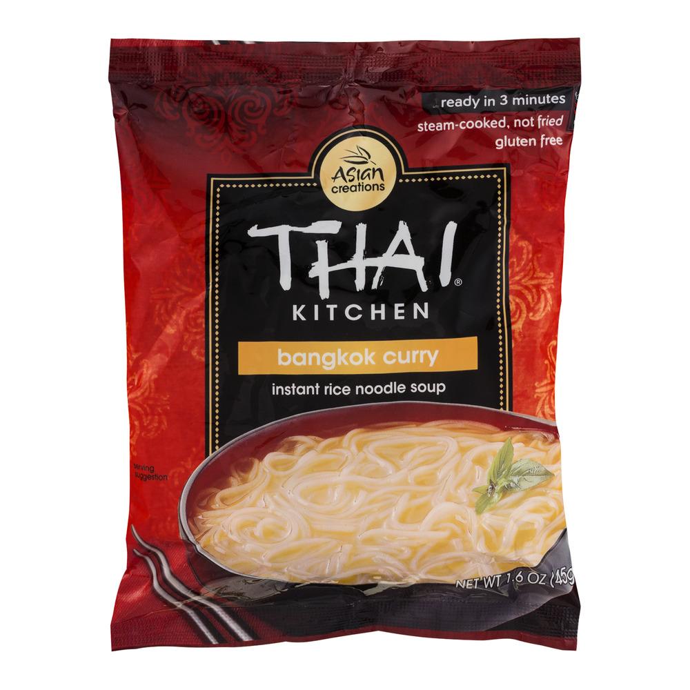 Thai Kitchen Instant Rice Noodle Soup Bangkok Curry, 1.6 OZ
