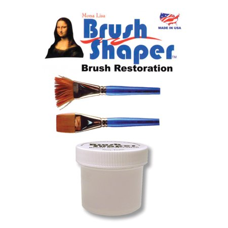 Mona Lisa Brush Shaper 2 oz. Jar, Carded