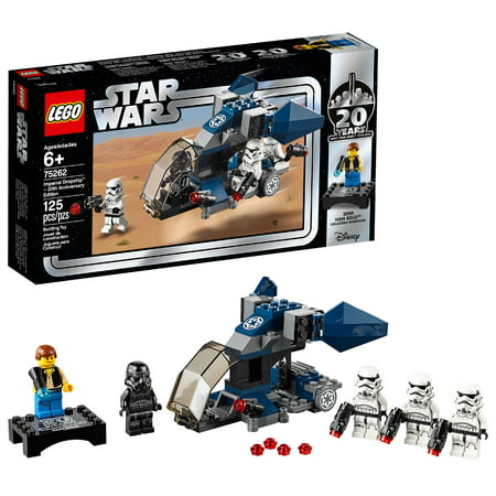 Star Wars Titanium Imperial (LEGO Star Wars TM 20th Anniversary Edition Imperial Dropship 75262 )