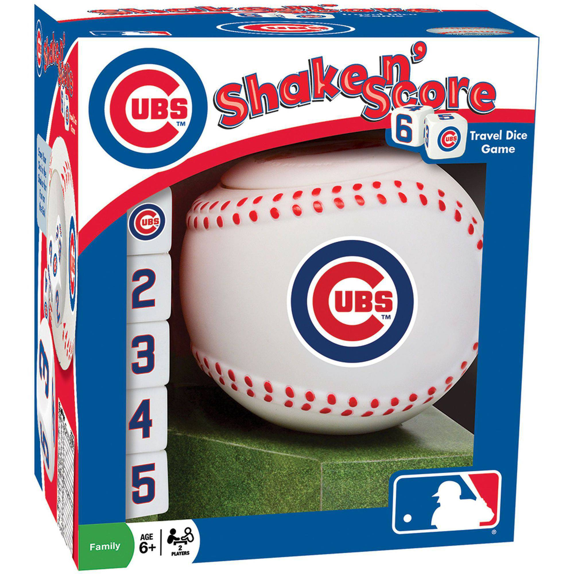 MasterPieces MLB Chicago Cubs Shake n' Score Dice Game