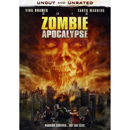 2012 Zombie Apocalypse (DVD) - Zombie Projection Dvd