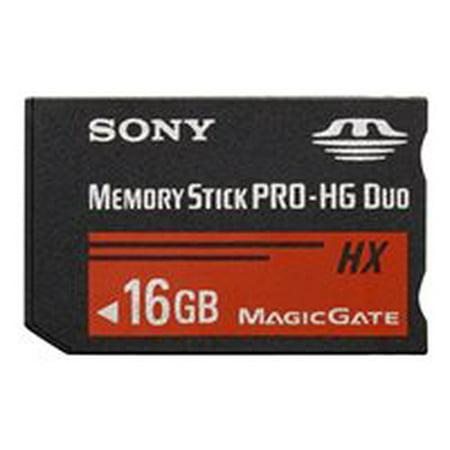 32 Gb Memory Stick Duo (Sony MSHX32B/M - Flash memory card - 32 GB - Memory Stick PRO-HG Duo HX - for Handycam HDR-PJ760, PJ780, PJ790, NEX-VG900; NXCAM NEX-EA50; a SLT-A65, A77; a NEX F3Y)