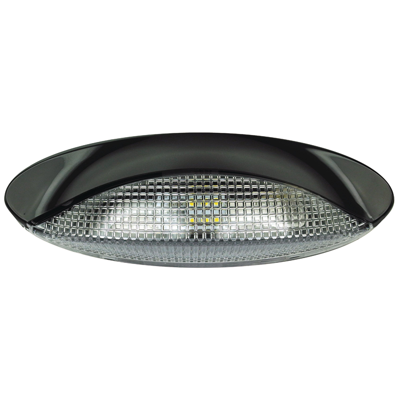 Fultyme RV LED Low Profile Oval Porch Utility Light