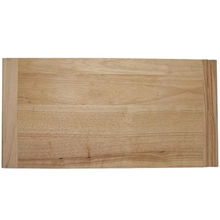 - HD NPBB16 Rubberwood Bread Boards - 0.75 x 16 x 23.50 in.