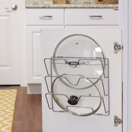 Household Essentials Cabinet Door Pot and Pan Lid Holder