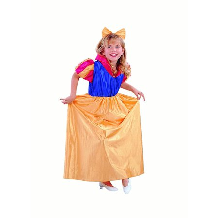Snow White-satin Costume (Classic Snow White Costume)