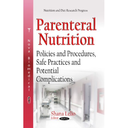 PARENTERAL NUTRITION POLICIES AND PRO (Nutrition and Diet Research Progress) (Hardcover) Books : PARENTERAL NUTRITION POLICIES AND PRO (Nutrition and Diet Research Progress) (Hardcover)