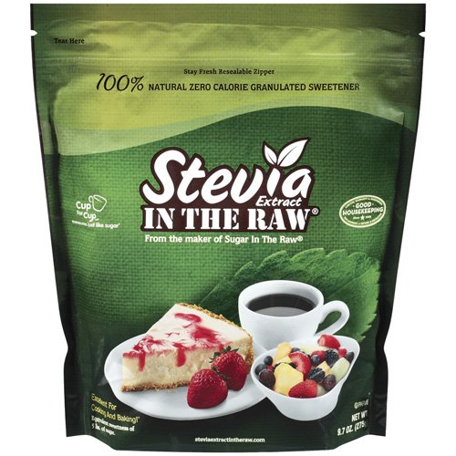 Stevia Extract In The Raw 100% Natural Zero Calorie Granulated Sweetener, 9.7 oz
