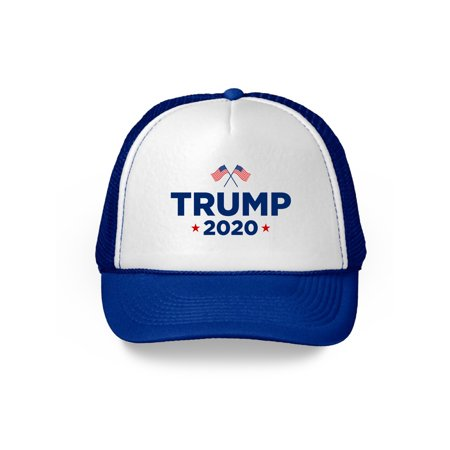 Baseball Style Hats (Awkward Styles Trump 2020 Baseball Cap Donald Trump Trucker Hat for Men and Women Political Gifts Republican Campaign Caps Keep America Great Election 2020 USA Trump Hat US Flag Trump)