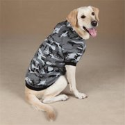 Pet Pals ZA602 12 43 Casual Canine Camo Hoodie Sm Green