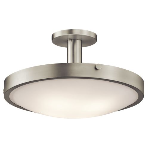 Kichler  42246  Ceiling Fixtures  Lytham  Indoor Lighting  Semi-Flush  ;Brushed Nickel