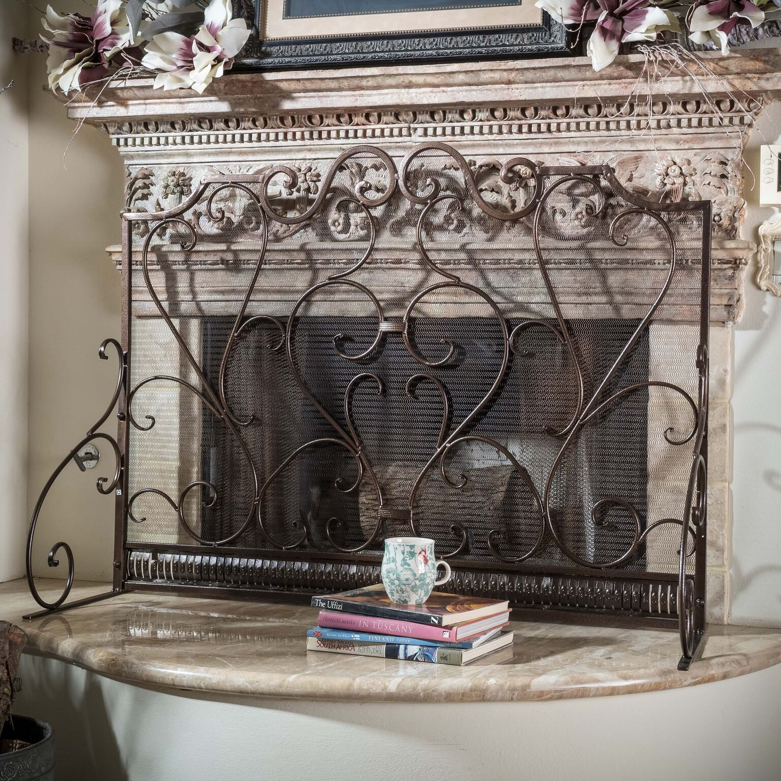 Noble House Franklin Fireplace Screen by Noble House