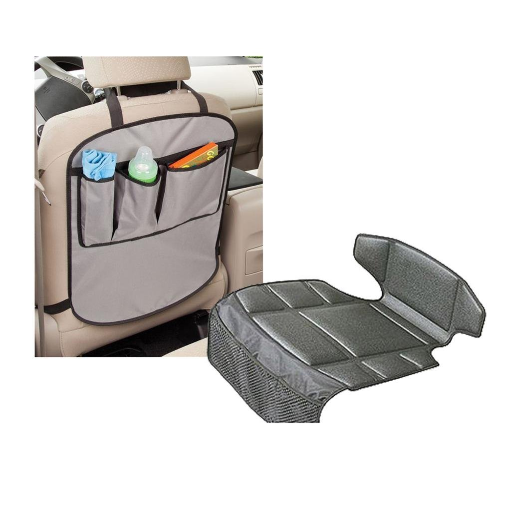 Prince Lionheart Compact Seatsaver with Backseat Kick Protector Mats