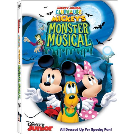 Mickey Mouse Clubhouse: Mickey's Monster Musical (DVD) (Morse Dvd Set)