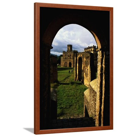 Arch in the Royal Enclosure Framed Print Wall Art By Jon Hicks
