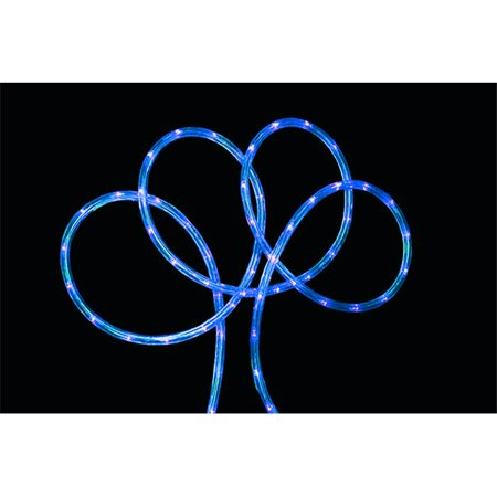 NorthLight 18 Ft Blue LED Indoor Outdoor Christmas Rope Lights