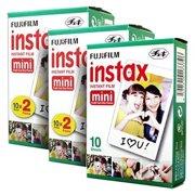 Fujifilm Instax Mini Instant Film for Fuji 7s 8 9 11 25 70 SP-1 SP-2 (50 Films)