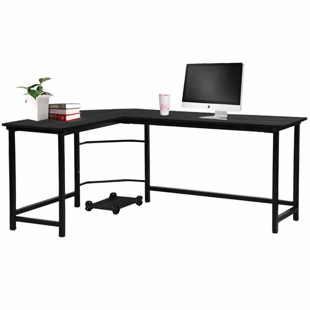 Image of: White Corner Office Desk For Englewood Modern White Corner Desks