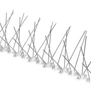 BIRD BARRIER Bird Repellent Spikes,Bird-Flite, 10 ft BP-F110