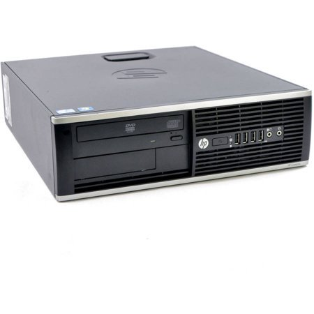 Refurbished HP Compaq 6300 Elite Desktop Computer with Intel Core i5-3470 Processor, 8 GB of RAM, 500 GB HDD, DVD, Wi-Fi, Windows 10 Professional 64-Bit.