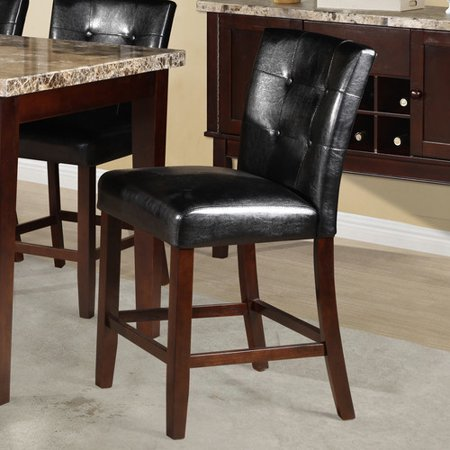 Wildon Home Crescent Counter Height Parsons Chair (Set of 2) - Walmart ...