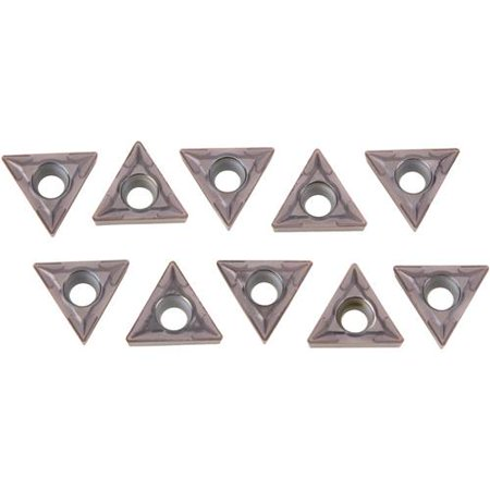 Grizzly Industrial T10381 Carbide Inserts TCMT for Steel, pk. of 10 Teledyne Carbide Inserts