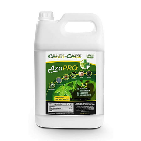 Cann-Care Aza Pro Botanical AzaPro Organic Insecticide Pest Growth Control Concentrate 32oz/ 32 Ounces