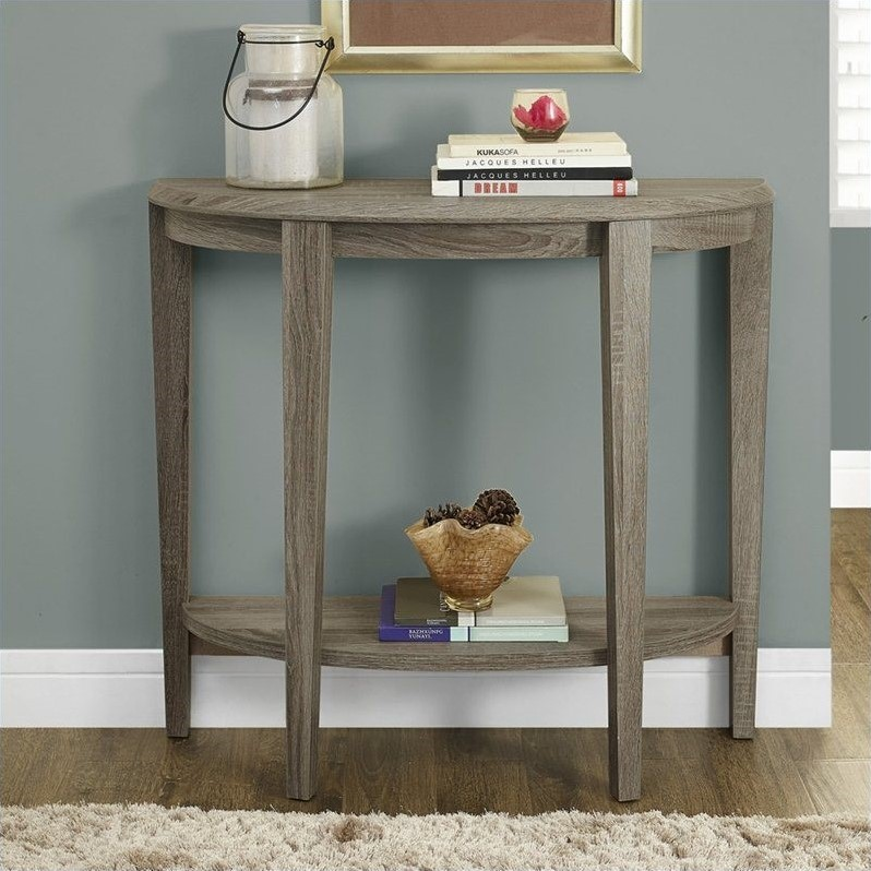 "Monarch Accent Table 36""L   Cappuccino Hall Console by Monarch Specialties"