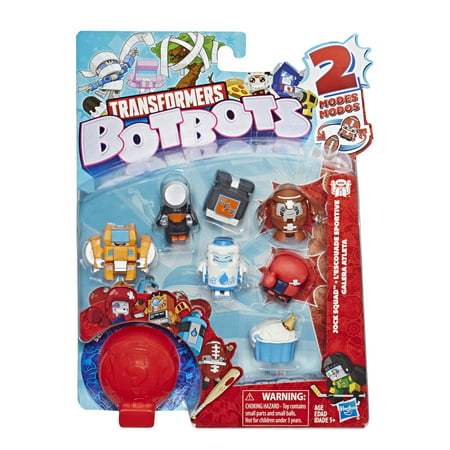 Transformers BotBots Toys Series 1 Jock Squad 8-Pack](Transformers Toys At Walmart)