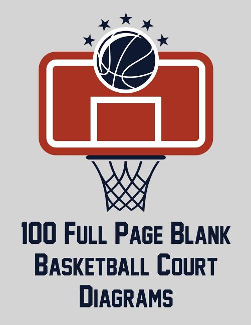 100 Full Page Blank Basketball Court Diagrams: Full Page ...