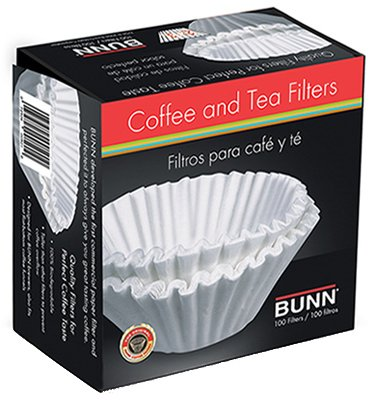-O-MATIC 20104.0001 Coffee Filters, 10 12-Cup Size, 100 Filters Pack, Ship from USA,Brand Bunn by