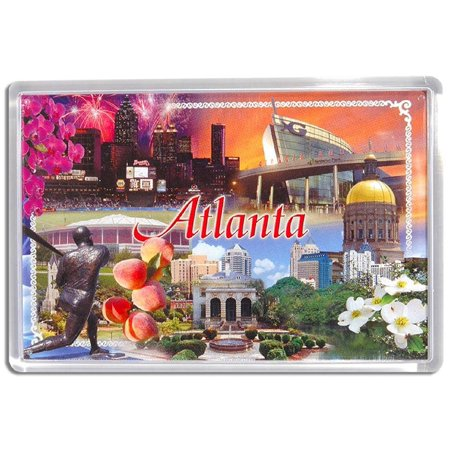 Atlanta Georgia Photo Fridge Magnet](Photo Magnet)