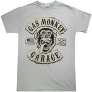 Gas Monkey Garage Grey Logo T-Shirt-Medium