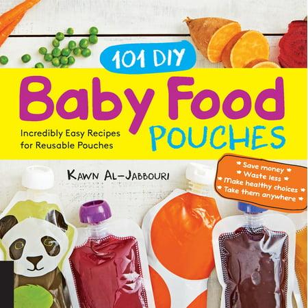 101 DIY Baby Food Pouches : Incredibly Easy Recipes for Reusable - Diy Halloween Makeup Recipes