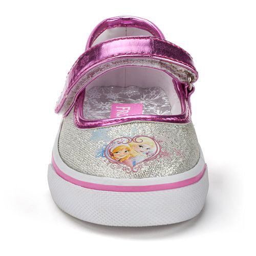 1105b4838ed Disney - Disney Frozen Elsa   Anna Girls  Cassual Shoe Mary Janes ...