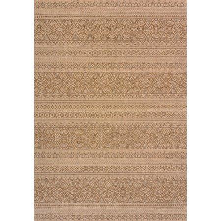 United Weavers Solarium Alfresco Brown Accent Rug 2'7'' x 4'2'' ()
