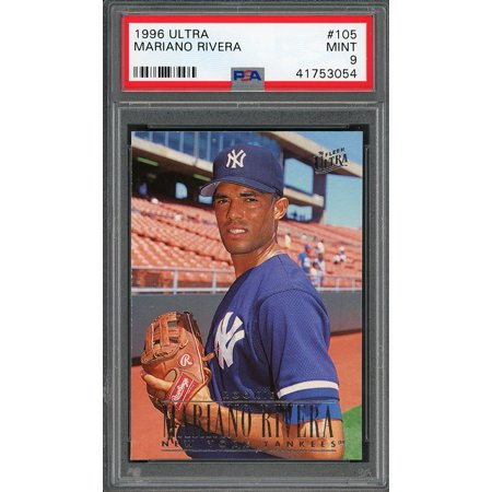 1996 Ultra 105 Mariano Rivera New York Yankees Rookie Card Psa 9