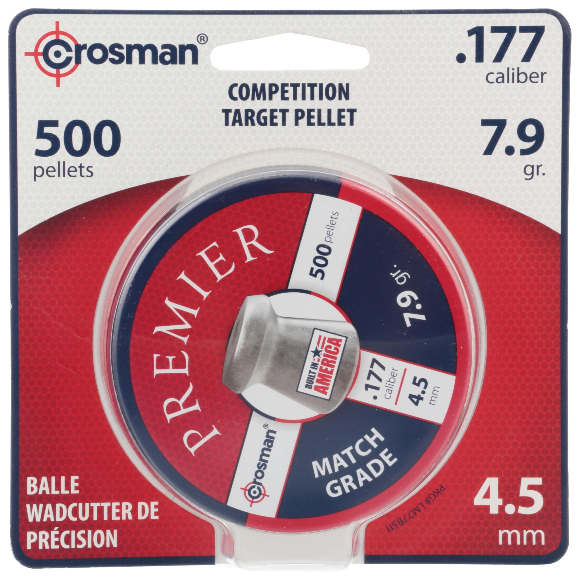 Crosman Premier 177 Caliber Match Grade Pellets 500ct LM77 by Crosman