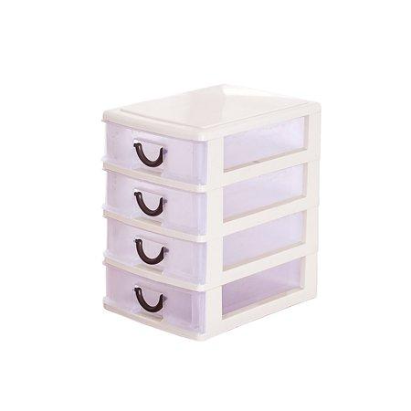 Plastic Transparent Drawer Organizer Home Kitchen Board Divider Makeup Storage Boxes - image 8 of 8