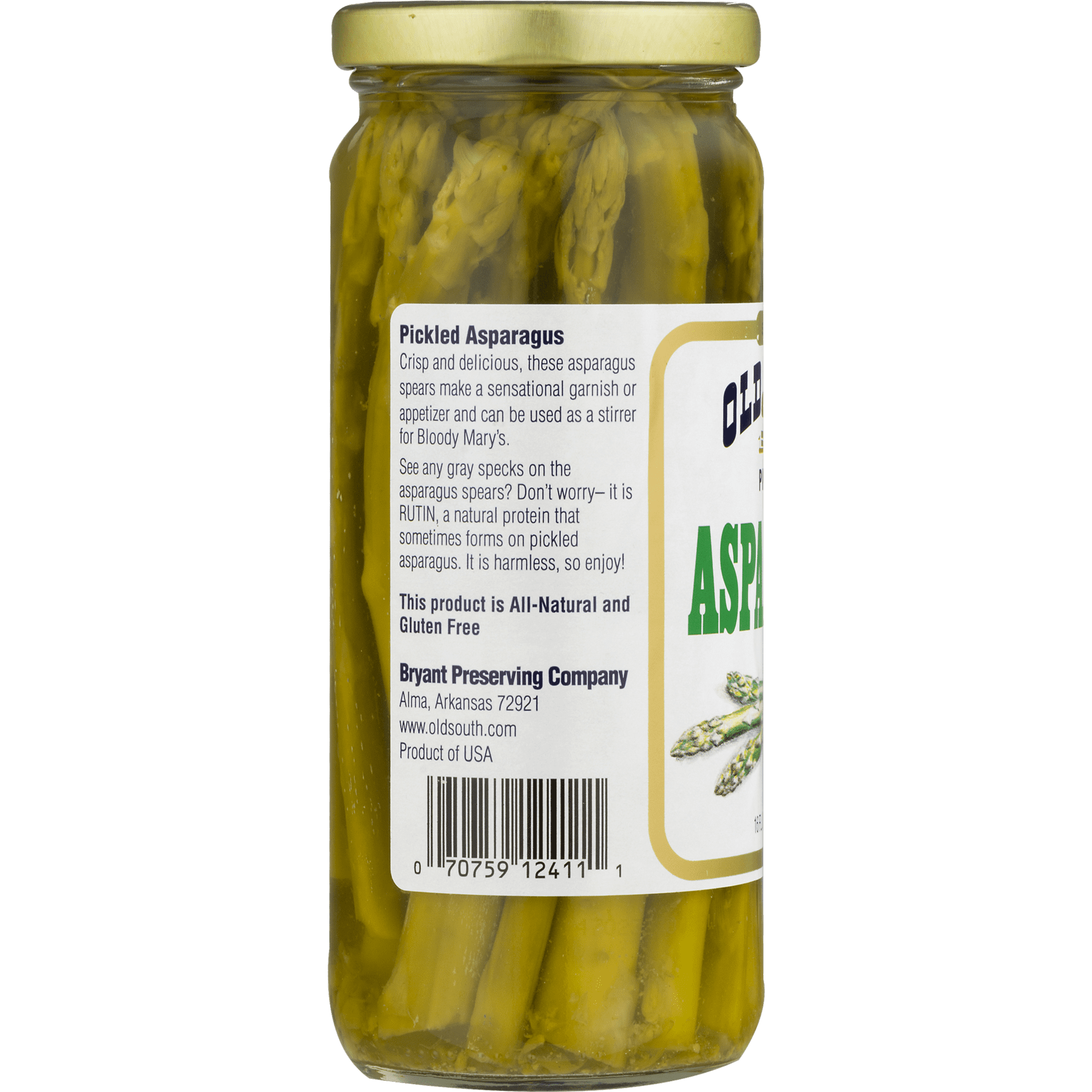 Old South Pickled Asparagus, 16 fl oz - Walmart.com