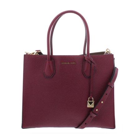 MICHAEL Michael Kors Womens Mercer Leather Convertible Tote Handbag -  Walmart.com d2cce85c5cdfc