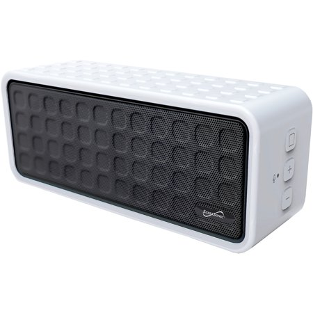 Portable Bluetooth Speaker, White