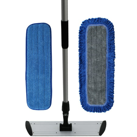 how to use microfiber mop pads